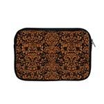 DAMASK2 BLACK MARBLE & RUSTED METAL (R) Apple MacBook Pro 15  Zipper Case Front