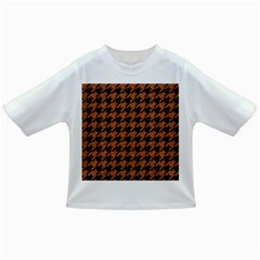 Houndstooth1 Black Marble & Rusted Metal Infant/toddler T Shirts