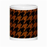 HOUNDSTOOTH1 BLACK MARBLE & RUSTED METAL Night Luminous Mugs Center