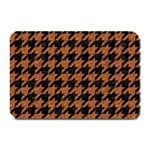 HOUNDSTOOTH1 BLACK MARBLE & RUSTED METAL Plate Mats 18 x12 Plate Mat - 1