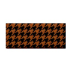 Houndstooth1 Black Marble & Rusted Metal Cosmetic Storage Cases