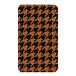 HOUNDSTOOTH1 BLACK MARBLE & RUSTED METAL Memory Card Reader Front