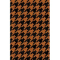Houndstooth1 Black Marble & Rusted Metal 5 5  X 8 5  Notebooks