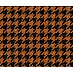 HOUNDSTOOTH1 BLACK MARBLE & RUSTED METAL Deluxe Canvas 14  x 11  14  x 11  x 1.5  Stretched Canvas