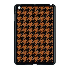 Houndstooth1 Black Marble & Rusted Metal Apple Ipad Mini Case (black)