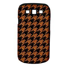 Houndstooth1 Black Marble & Rusted Metal Samsung Galaxy S Iii Classic Hardshell Case (pc+silicone)