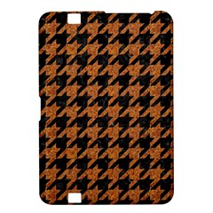 Houndstooth1 Black Marble & Rusted Metal Kindle Fire Hd 8 9