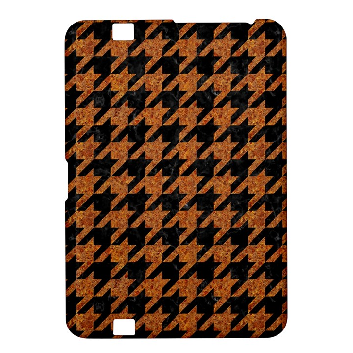 HOUNDSTOOTH1 BLACK MARBLE & RUSTED METAL Kindle Fire HD 8.9