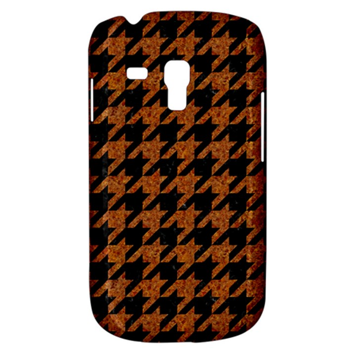 HOUNDSTOOTH1 BLACK MARBLE & RUSTED METAL Galaxy S3 Mini