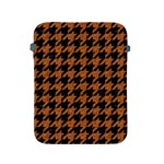 HOUNDSTOOTH1 BLACK MARBLE & RUSTED METAL Apple iPad 2/3/4 Protective Soft Cases Front