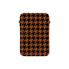 Houndstooth1 Black Marble & Rusted Metal Apple Ipad Mini Protective Soft Cases