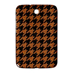 Houndstooth1 Black Marble & Rusted Metal Samsung Galaxy Note 8 0 N5100 Hardshell Case