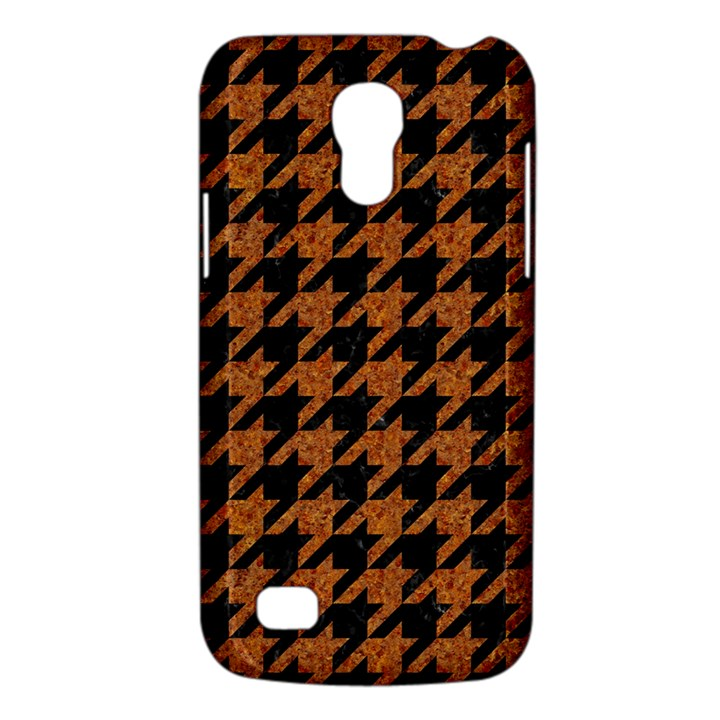 HOUNDSTOOTH1 BLACK MARBLE & RUSTED METAL Galaxy S4 Mini