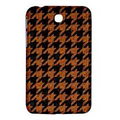 Houndstooth1 Black Marble & Rusted Metal Samsung Galaxy Tab 3 (7 ) P3200 Hardshell Case