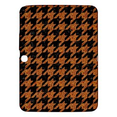 Houndstooth1 Black Marble & Rusted Metal Samsung Galaxy Tab 3 (10 1 ) P5200 Hardshell Case