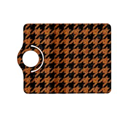 Houndstooth1 Black Marble & Rusted Metal Kindle Fire Hd (2013) Flip 360 Case