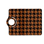 HOUNDSTOOTH1 BLACK MARBLE & RUSTED METAL Kindle Fire HD (2013) Flip 360 Case Front