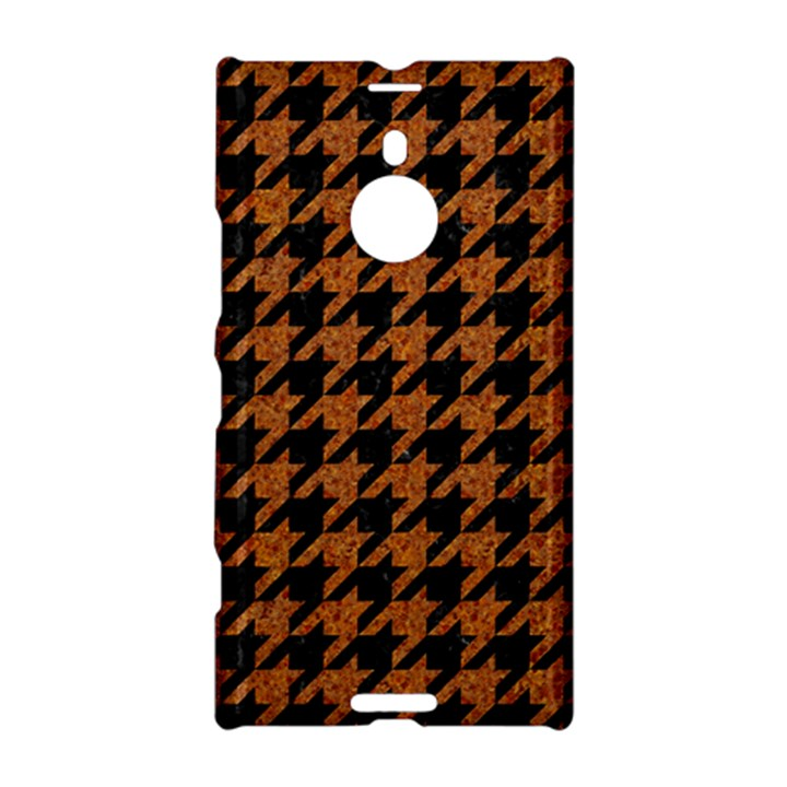 HOUNDSTOOTH1 BLACK MARBLE & RUSTED METAL Nokia Lumia 1520