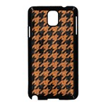 HOUNDSTOOTH1 BLACK MARBLE & RUSTED METAL Samsung Galaxy Note 3 Neo Hardshell Case (Black) Front