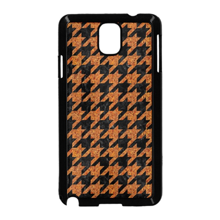 HOUNDSTOOTH1 BLACK MARBLE & RUSTED METAL Samsung Galaxy Note 3 Neo Hardshell Case (Black)