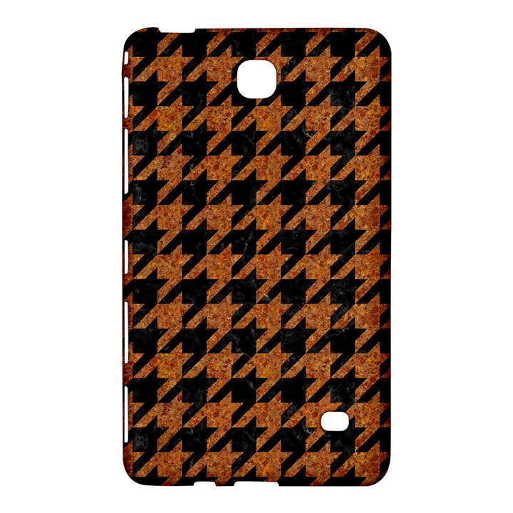 HOUNDSTOOTH1 BLACK MARBLE & RUSTED METAL Samsung Galaxy Tab 4 (8 ) Hardshell Case