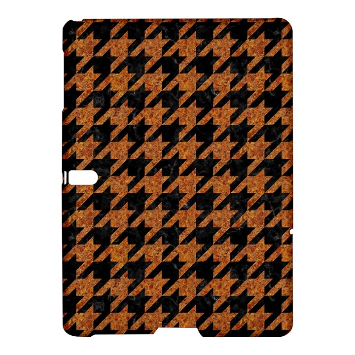 HOUNDSTOOTH1 BLACK MARBLE & RUSTED METAL Samsung Galaxy Tab S (10.5 ) Hardshell Case