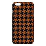 HOUNDSTOOTH1 BLACK MARBLE & RUSTED METAL iPhone 6 Plus/6S Plus TPU Case Front