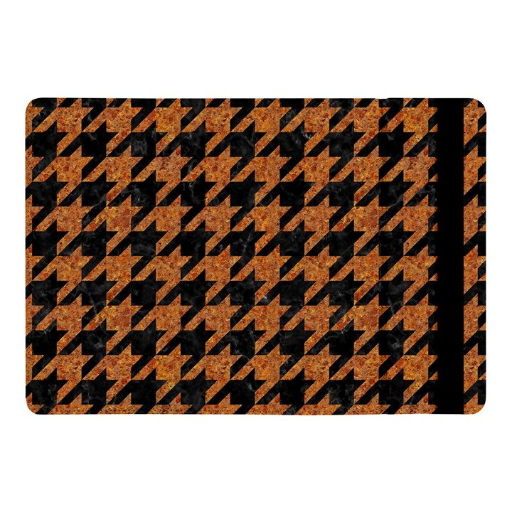 HOUNDSTOOTH1 BLACK MARBLE & RUSTED METAL Apple iPad Pro 10.5   Flip Case
