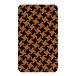 HOUNDSTOOTH2 BLACK MARBLE & RUSTED METAL Memory Card Reader Front