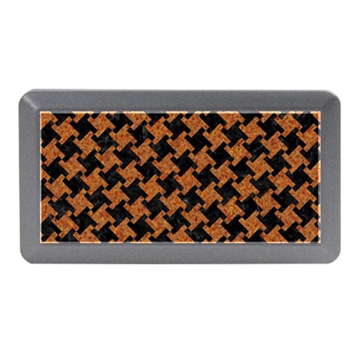 HOUNDSTOOTH2 BLACK MARBLE & RUSTED METAL Memory Card Reader (Mini)