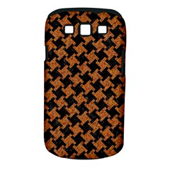 Houndstooth2 Black Marble & Rusted Metal Samsung Galaxy S Iii Classic Hardshell Case (pc+silicone)