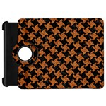 HOUNDSTOOTH2 BLACK MARBLE & RUSTED METAL Kindle Fire HD 7  Front