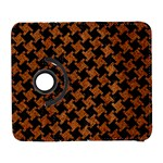 HOUNDSTOOTH2 BLACK MARBLE & RUSTED METAL Galaxy S3 (Flip/Folio) Front
