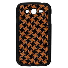 Houndstooth2 Black Marble & Rusted Metal Samsung Galaxy Grand Duos I9082 Case (black)