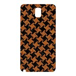 HOUNDSTOOTH2 BLACK MARBLE & RUSTED METAL Samsung Galaxy Note 3 N9005 Hardshell Back Case Front