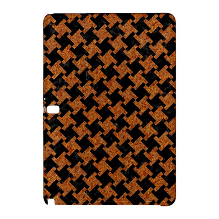 HOUNDSTOOTH2 BLACK MARBLE & RUSTED METAL Samsung Galaxy Tab Pro 12.2 Hardshell Case
