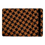 HOUNDSTOOTH2 BLACK MARBLE & RUSTED METAL Samsung Galaxy Tab Pro 10.1  Flip Case Front