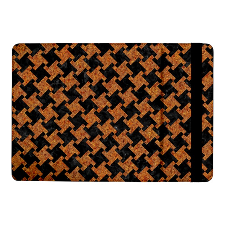 HOUNDSTOOTH2 BLACK MARBLE & RUSTED METAL Samsung Galaxy Tab Pro 10.1  Flip Case