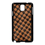 HOUNDSTOOTH2 BLACK MARBLE & RUSTED METAL Samsung Galaxy Note 3 Neo Hardshell Case (Black) Front