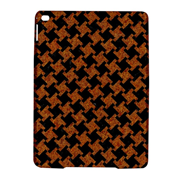 HOUNDSTOOTH2 BLACK MARBLE & RUSTED METAL iPad Air 2 Hardshell Cases