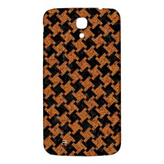 Houndstooth2 Black Marble & Rusted Metal Samsung Galaxy Mega I9200 Hardshell Back Case