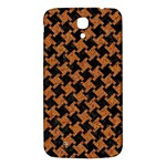 HOUNDSTOOTH2 BLACK MARBLE & RUSTED METAL Samsung Galaxy Mega I9200 Hardshell Back Case Front