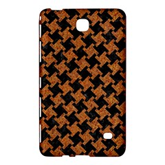 Houndstooth2 Black Marble & Rusted Metal Samsung Galaxy Tab 4 (8 ) Hardshell Case