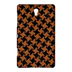 Houndstooth2 Black Marble & Rusted Metal Samsung Galaxy Tab S (8 4 ) Hardshell Case