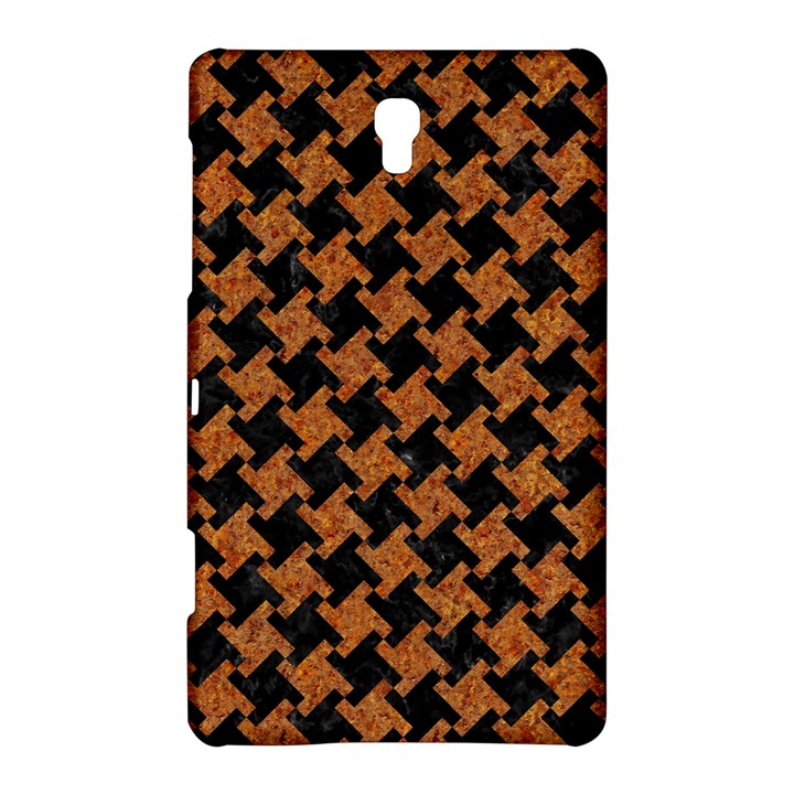 HOUNDSTOOTH2 BLACK MARBLE & RUSTED METAL Samsung Galaxy Tab S (8.4 ) Hardshell Case