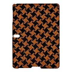 Houndstooth2 Black Marble & Rusted Metal Samsung Galaxy Tab S (10 5 ) Hardshell Case