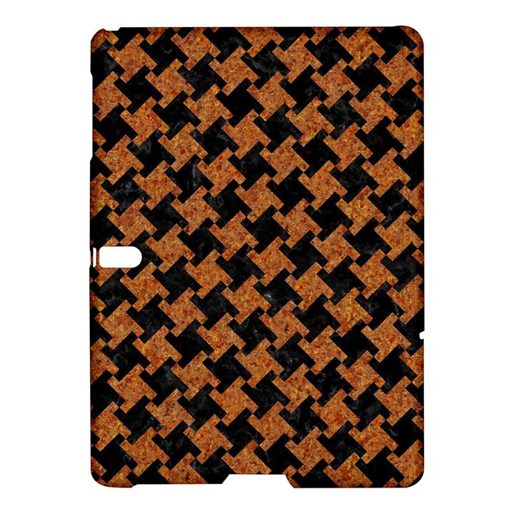 HOUNDSTOOTH2 BLACK MARBLE & RUSTED METAL Samsung Galaxy Tab S (10.5 ) Hardshell Case