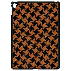 Houndstooth2 Black Marble & Rusted Metal Apple Ipad Pro 9 7   Black Seamless Case