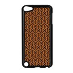HEXAGON1 BLACK MARBLE & RUSTED METAL Apple iPod Touch 5 Case (Black) Front