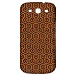 HEXAGON1 BLACK MARBLE & RUSTED METAL Samsung Galaxy S3 S III Classic Hardshell Back Case Front